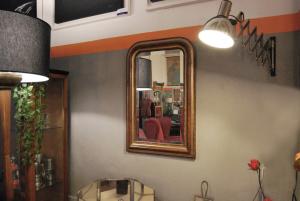 Specchiera vintage francesina
