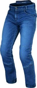 Jeans moto Macna Porter con Kevlar Blu