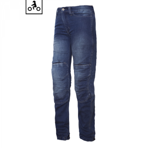Jeans moto donna OJ Friction Lady CE