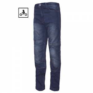 Blue W 32 L 34 JET Motorcycle Jeans Kevlar Safety Trousers Aramid Lined Jeans Armoured