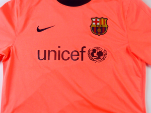 2009-10 Barcelona Maglia Ibrahimovic #9 Away L (Top)
