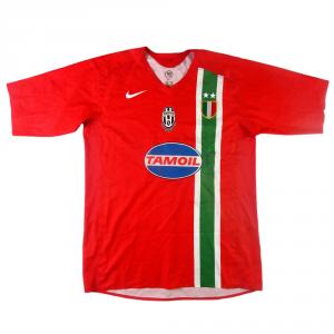 2005-06 Juventus Maglia Ibrahimovic #9 Away XL