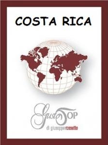 Caffè monorigine in cialda Costa Rica, confezione da n. 50 cialde in carta ese 44 mm compatibili