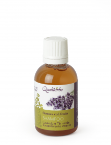 Minitaglia 50 ml Shampoo sostantivante intenso alla Lavanda e The Verde Flowers and Fruits