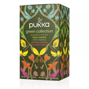 Collection Green Pukka Green Tea - Collection de thés verts