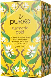 Tè Pukka alla Curcuma - Turmeric Gold