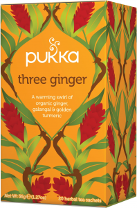 Tè Pukka ai Tre Zenzeri - Three Ginger