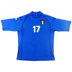 2000-01 ITALY SHIRT  17 MATCH ISSUE HOME XL 1aef52b7a