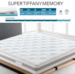 Materasso Super Tiffany Memory