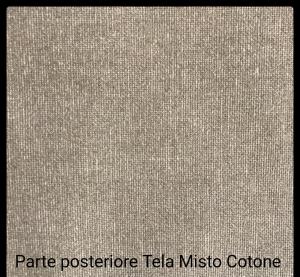 Tele con profili curvi per dipingere in Misto Cotone - profilo telaio 4 cm