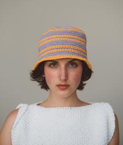 Sun Set Hat Bag Kit Uncinetto Cotone Per Cappello E Borsa Online Schema