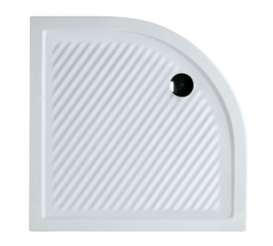 Piatto doccia angolare per il bagno cm 90 x 90 h 6,5 Ferdy Azzurra