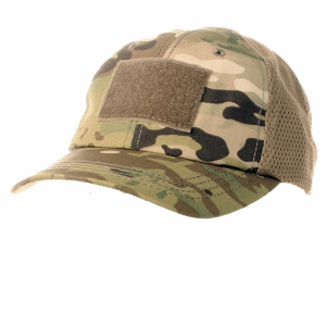 Berretto Tactical con retina Multicam