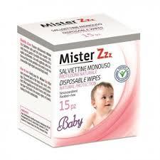 MISTER ZZZ - SALVIETTINE MONOUSO PROTEZIONE NATURALE BABY