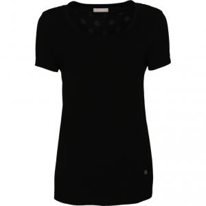 T-shirt bianca o nera voile Nero Giardini