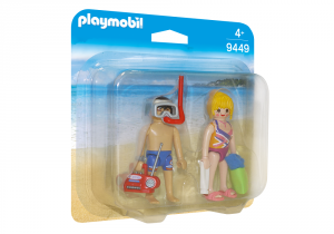 PLAYMOBIL COPPIA IN VACANZA 9449