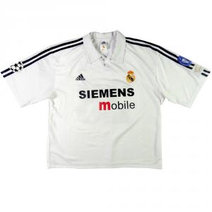 2002-03 REAL MADRID MAGLIA #23 BECKHAM CENTENARIO XL