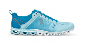 Scarpe running ON Cloudflow W Blue/Haze