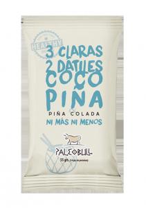 PaleoBull Pina Colada - La Barretta con Fonte Naturale di Proteina all' Uovo - No Glutine-Latticini-Legumi