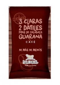 PaleoBull Caffè - La Barretta con Fonte Naturale di Proteina all' Uovo - No Glutine-Latticini-Legumi