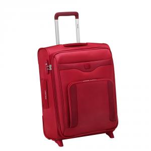 Delsey - Baikal - Trolley da Cabina Ryanair 55 cm 2 Ruote Rosso con beauty case in omaggio cod. 3531723