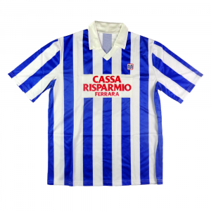 1986-87 Spal Maglia Home  #8 Match worn XL Marix (Top)