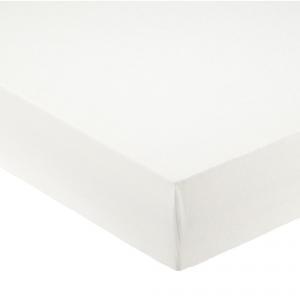 Lenzuola con angoli matrimoniali per letti grandi 190x215 cm - bianco