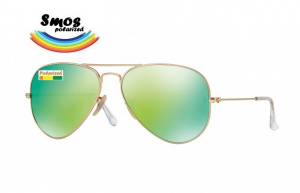 Smos Polarized OS4 58-14 Pilot  Green