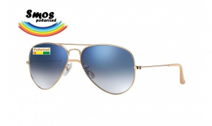 Smos Polarized OS2 58-14 Pilot Blue Sky