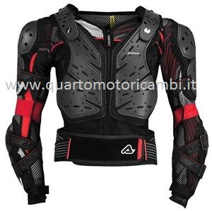 Acerbis 0017756.319.067 Pettorina Koerta 2.0 nero-grigio L/XL PER ENDURO