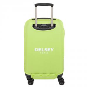 Delsey - Copri valigia elastica s/m verde cod. 3940179