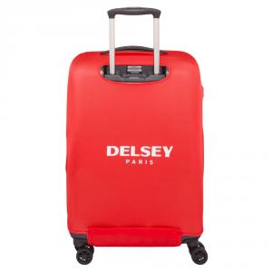 Delsey - Copri valigia elastica M/L rosso cod. 3940180