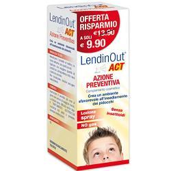 LENIDINOUT ACT - SPRAY AD AZIONE PREVENTIVA CONTRO I PIDOCCHI