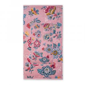 Set 1+1 asciugamano e ospite PIP STUDIO Berry Bird rosa