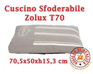 Cuscino per Cani Sfoderabile Zolux T70 - Cottage