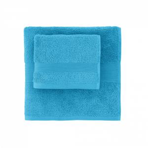 Telo da bagno in spugna 100x150 cm SOLO TUO Zucchi - var. ciano 3352
