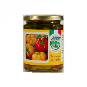 Peperoni in olio extra vergine di oliva - 270gr