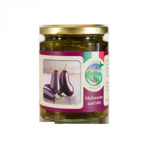 Melanzane sott'olio extravergine di oliva – 270 GR