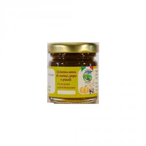 Gelatina extra di susine pepe e pinoli - 40gr