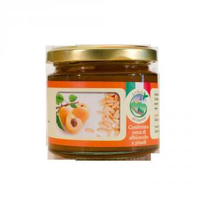 Confettura extra di albicocche e pinoli - 200gr