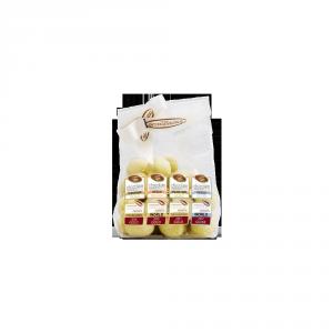 Dragées Pistacchio Cioccolato Bianco Polvere di Arancia e Sale Marino  - 70gr