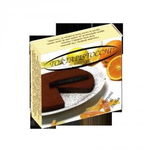 Torta Pistocchi pure chocolate cake with Sicilian Citrus - 250g