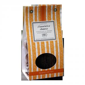 Cantucci Cioccolato ed Arancia - 200gr