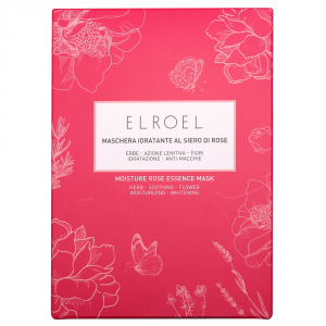 ELROEL MOISTURE ROSE ESSENCE MASK 10PZ