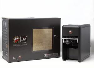Macchina caffè Mini Trè Vergnano + 10 Capsule