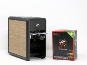 Macchina caffè MINI Trè Vergnano + 60 Capsule OMAGGIO