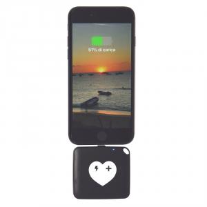 POWERSAFE carica batteria esterno per iPhone - 1000 mAh ad innesto diretto