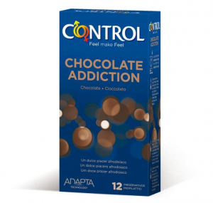 Control Chocolate Adiction 12 Profilattici