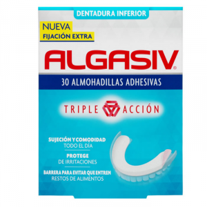 Algasiv Denture Fixative Seals Down 30 Units