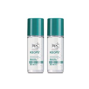Roc Keops Roll On Deodoranti 2x30ml